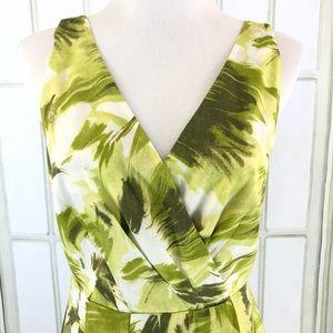 Ann Taylor Dresses - Ann Taylor A-Line Pleated Sleeveless Dress